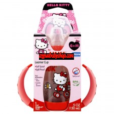 NUK Hello Kitty Silicone Spout Learner Cup, 5 Ounce