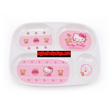 Hello Kitty 四格方形餐盤