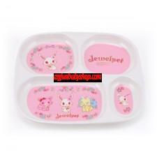 Jewelpet 寶石寵物 - 四格方形餐盤