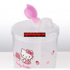 Hello Kitty 旋轉奶粉盒