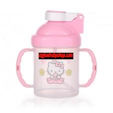 Hello Kitty 彈蓋吸管杯