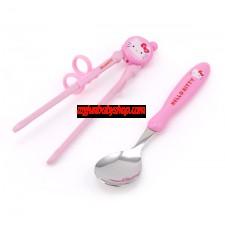 Hello Kitty 筷子及匙更套裝