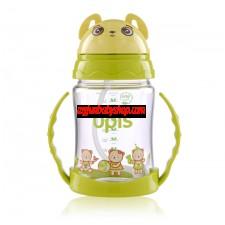 ONE- TOUCH 吸管訓練杯清潔刷套裝(280ml)(小熊造型)
