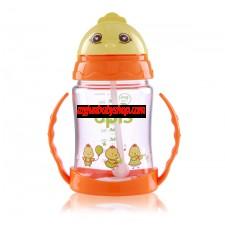 ONE- TOUCH 吸管訓練杯清潔刷套裝(280ml)(小雞造型)