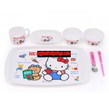 Hello Kitty 餐具禮盒套裝