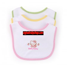Hello Kitty 3件裝口水肩