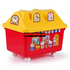 Hello Kitty 糖果屋玩具收納箱