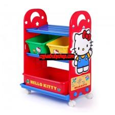 Hello Kitty 玩具存放架