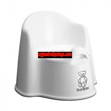 BabyBjörn Potty Chair 高背學習便廁 (白)