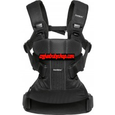 BabyBjörn Baby Carrier One Air 嬰兒揹帶 (最新版) (黑色)