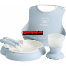 BabyBjörn Baby Feeding Gift Set 嬰兒用餐套裝 (淺藍)