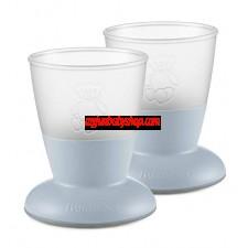 BabyBjörn 兒童飲水學習杯 (2件裝) (淺藍)