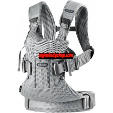 BabyBjörn Baby Carrier One Air 嬰兒揹帶 (最新版) (銀色)