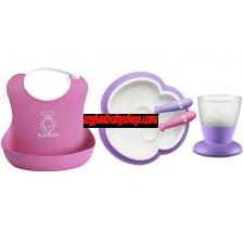 BabyBjörn Baby Feeding Gift Set 嬰兒餵食飲用套裝 (紫/粉)