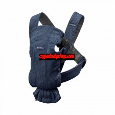 BabyBjörn Baby Carrier Mini Mesh 初生專用嬰兒揹帶 (深藍)