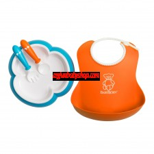 BabyBjörn Baby Feeding Gift Set 嬰兒餵食套裝 (橙/藍)