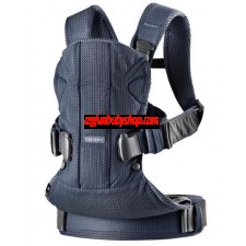 BabyBjörn Baby Carrier One Air 嬰兒揹帶 (最新版) (藍)