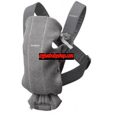 BabyBjörn Baby Carrier MINI Jersey 初生專用嬰兒揹帶 (深灰)