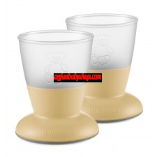 BabyBjörn 兒童飲水學習杯 (2件裝) (淺黃)