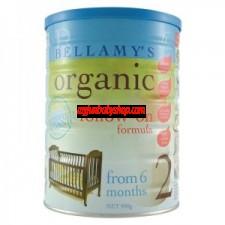 Bellamy's Organic 初生嬰兒奶粉 2段